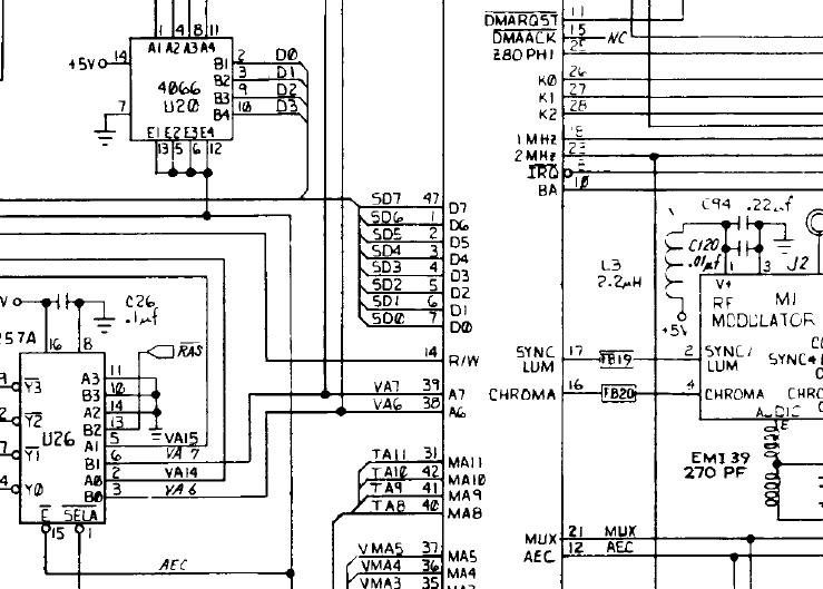 Original CBM schematic