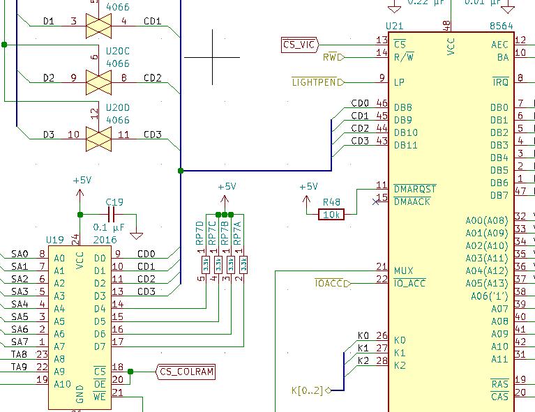 New KiCad schematic