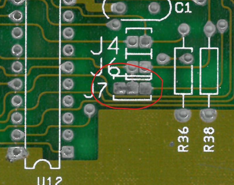 J7 PCB